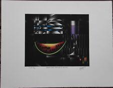 Mario AVATI - Manière noire gravure signée numérotée pastèque 1969 **