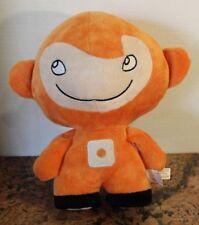 """2010 Sushi Pack Orange Plush Doll Soft Stuffed Toy 11"""""""