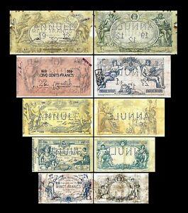 Bélgica - 2x 1 - 1.000 Francs - Edición 1869 - 1886 - Reproducción - B 25