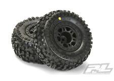 NEW Pro-Line Traxxas Slash Front Badlands SC M2 Mounted Tire / Wheel Set (2) ...