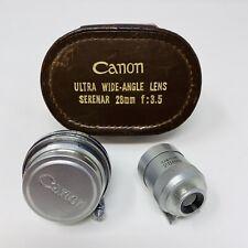 Canon Ultra Wide Angle Lens Serenar 28mm f:3.5