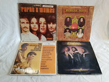 4 Lp Mixed Lot ~ The Mamas & Papas, (2 Lps), The Everly Brothers & The Bee Gees