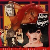"""NINA HAGEN """"DEFINITIVE COLLECTION"""" CD NEUWARE"""