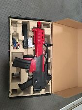 H&k g36 red and black airsoft gun