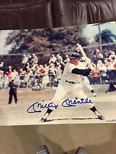 Mickey Mantle Signed / Autograph 8x10 photo