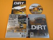 ps3 DIRT COLIN McRAE Steelbook Edition Off Road Racing Game PAL UK REGION FREE