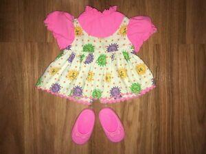 Vintage 1964 Mattel Doll TIMEY TELL Original Dress & Shoes Outfit Excellent Cond
