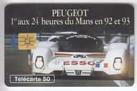 VARIETE TELECARTE FRANCE .. 50U F403 SO3 RARE  2 ENCOCHES DE PUCE R° UT/TBE C.?€