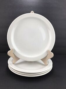 Set of 4 Stonehedge White by Midwinter Salad Plates England Wedgwood