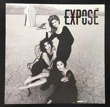 Expose 1992 Promo Poster Flat All 3 Sexy Girls 2-Sided Mint Condition