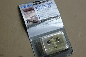 OEM Factory 95-09 Mazda B-Series Stainless Tie-Down Loops Truck Bed Box Loop