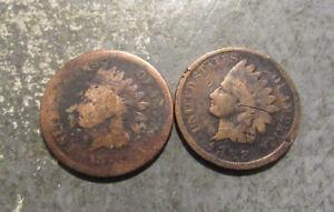 1879 1888 Indian Head Pennies