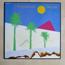 THE CURE Boys Don't Cry UK vinyl LP SIGNED by Robert & Laurence Fiction SPELP 26