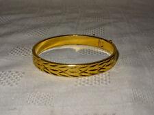 Vintage 18ct Rolled Gold Plated Bracelet - 31.7g