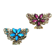 "Annie 3/"" Butterfly Clamps Hair Accessories Claws Clip Pins Multi Colors #3179"