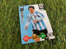 Panini XL Adrenalyn World Cup 2010 South Africa Base Card Lionel Mesi -