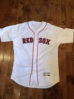 2019 Game Worn Boston Red Sox Home Jersey * Marco Hernandez * Authenticated !