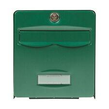 BURG-WÄCHTER - Boîte aux lettres galvanisé Balthazar - 2 portes - vert