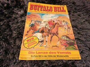 BUFFALO BILL Nr. 417, schöner BASTEI Western-Comic 1976 mit Magazinteil
