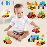 4 In 1 Baby Toddlers Dump Truck Toy Boys Kids Children Construction Vehicle