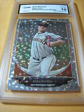 KYLE CRICK GIANTS 2013 BOWMAN SILVER ICE ROOKIE RC # TP26 GRADED 10