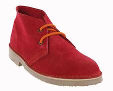 Calzado de mujer botines en rojo, talla 37