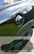 MINI Gen 2, R56 Cooper S JCW 2006 - 2013 NERO LUCIDO FUEL CAP COPERCHIO.