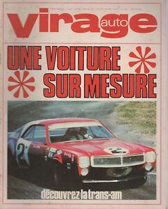 VIRAGE AUTO 1969 12 FORD CAPRI TdF TOUR DE CORSE GP USA MEXIQUE CANAM TRANSAM