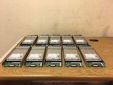 """Lot of 10 Hitachi Deskstar 7K500 HDS725050KLA360 500GB 3.5"""" SATA II HDD w/ Tray"""