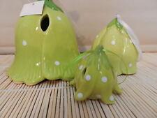 3 Osterglocken grün gepunktet - Neu