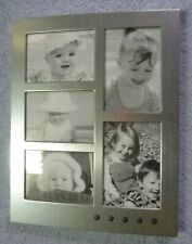 Brookstone Voice Recording Photo Collage Frame Five Personalized Photos, O/B