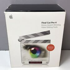 Apple Final Cut Pro 4 Upgrade FCP Video Editing Tools M9039Z/A Manuals DVDs Fast