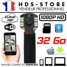 MV88IR Module Spy Camera IP Wifi Full HD 1080P+ Micro SD 32gb 4 Leds Ir