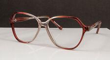 Vintage Smilen Power Flex Brown Fade Eyeglasses Frames 52-16-140