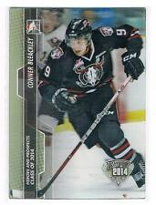 2013-14 CONNOR BLEACKLEY ITG HEROES & PROSPECTS CLASS OF 2014 3-D RC #187 REBELS