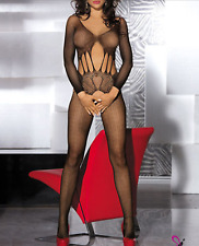 Sexy Fishnet Lingerie Body stocking Dress Underwear Babydoll Bodysuit Size 6-12