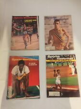 VINTAGE SPORTS ILLUSTRATED MAGAZINES LOT OF 4 RUNNING TRACK OLYMPIC MERIWEATHER