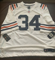 Nike NFL Chicago Bears Walter Payton Throwback Road Game Jersey - Men's 3XL NWT