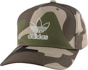 adidas Originals Men's AOP Camo Snapback Cap Baseball Hat