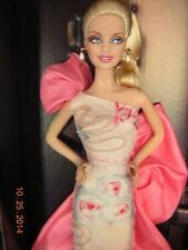 NIB New Rose Splendor Pink Label Collector Edition Barbie - Caucasion