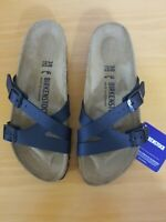 Birkenstock Yao Balance Birko-Flor Black Sandal - NEW - Choose Size