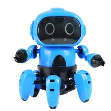 DIY Assembled Electric Robots for Kids Induction Educational Toy Children Gift