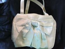 Timmy Woods of Beverly Hills Lime Green Satin Evening Handbag Purse New NWOT