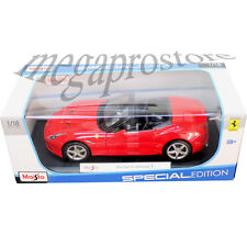 Maisto Ferrari California T Open Top Convertible 1:18 Diecast Car Red