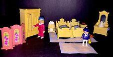 Playmobil 5321 Victorian Mansion 1989 Parents  Bedroom Set 99% Complete No Box