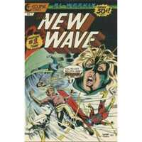 New Wave #7 in Very Fine minus condition. Eclipse comics [*fw]