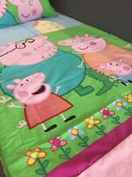 Peppa Pig 3' SINGLE DUVET COVER + PILLOW CASE  (PEPPER PIG) Pink