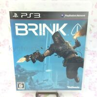 USED PS3 PlayStation 3 BRINK 30185 JAPAN IMPORT