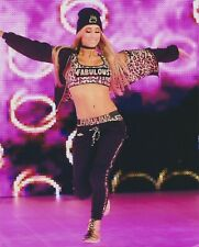 Carmella 8x10 photo WWE Dance Break entrance