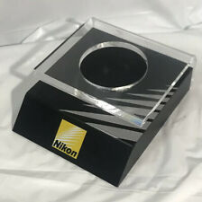 NEAR MINT+ NIKON ORIGINAL GENUINE LENS DISPLAY STAND BORD BASE SHELVE  JAPAN